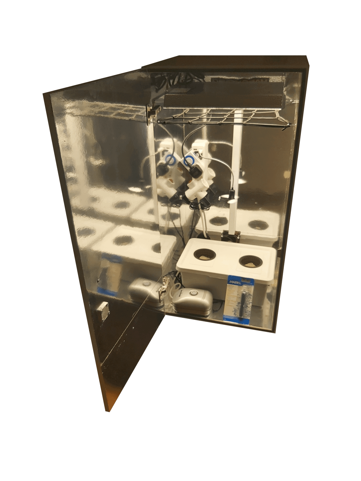Hydroponic Led stealth grow box