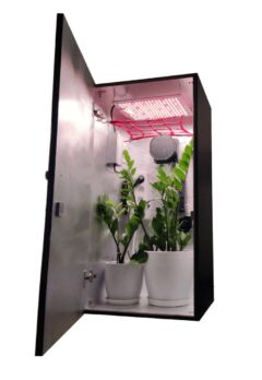 stealth led grow box cabinet