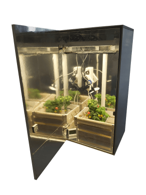 stealth grow box cabinet led 600w