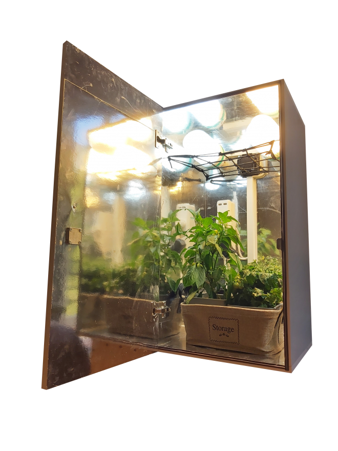 CFL stealth grow box cabinet