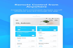 Control grow lights/timer remotely!
